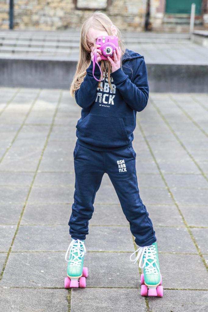 Kinder Hoodie & Jogger Pants Nachtblau