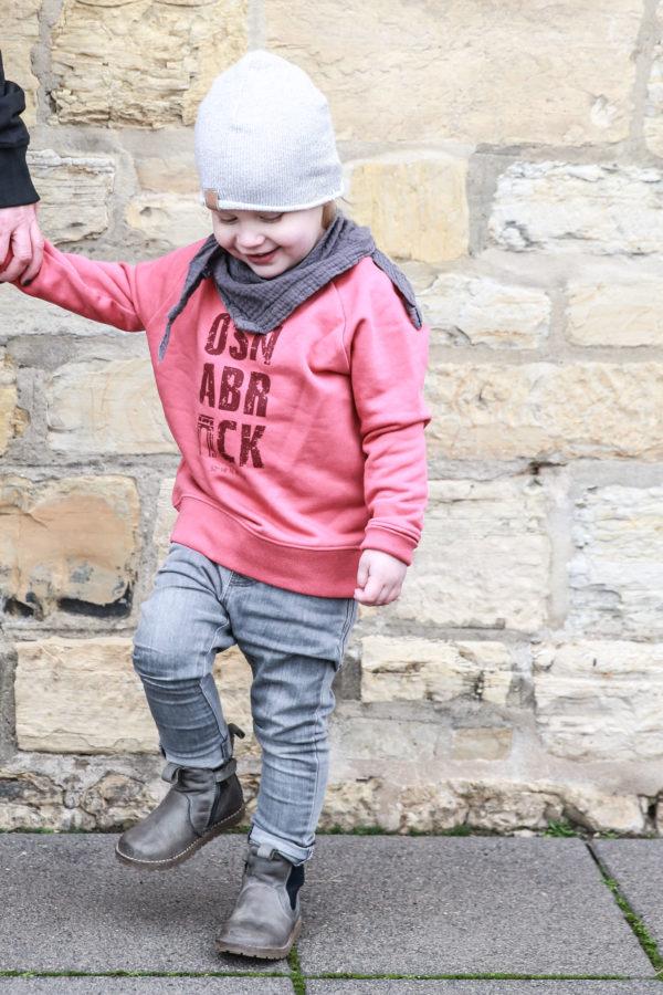 Kinder Sweatshirt Hagebutte