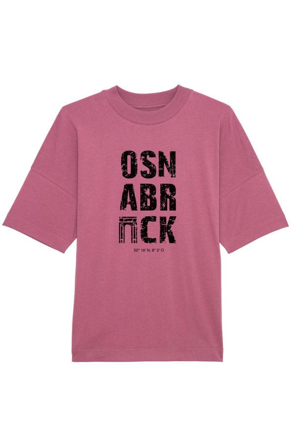 OSNABRÜCK Oversized T-Shirt Lila