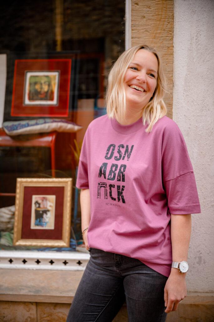 OSNABRÜCK oversized shirt lila